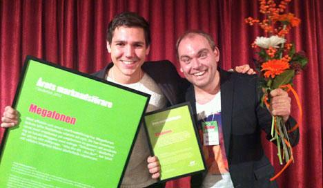 Årets Marknadsförare 2012
