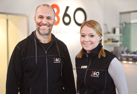 Patrik Nygren och Annie Fältman 360