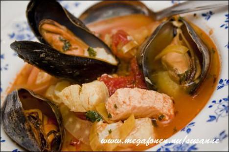 Fisk och skaldjurssoppa